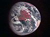 Infrared comparative view of Earth from Messenger