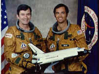 STS-1 Commander John W. Young (left) and Pilot Robert L. Crippen (right), NASA photo 133274main_sts1crew.jpg