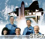 STS-7 Crew Image