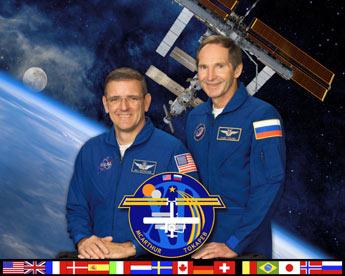 L'ISS accueille son troisième touriste 133616main_exp12_official_portrait