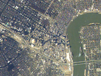 New Orleans from the International Space Station