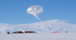Image of the Cream science balloon launch
