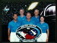 STS-31 Crew Photo