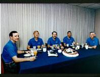 STS-36 Crew Photo