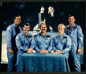 STS-41C Crew Photo