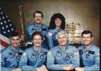 STS-41D Crew Photo