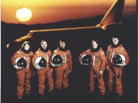 STS-43 Crew Photo