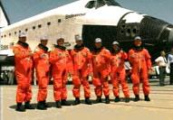 STS-49 Crew Photo