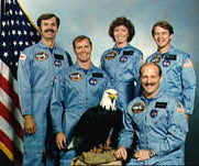 STS-51A Crew Photo