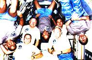 STS-51B Crew Photo