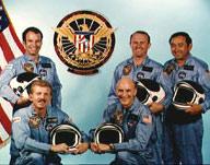 STS-51C Crew Photo