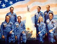 STS-51D Crew Photo