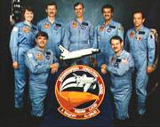STS-51G Crew Photo