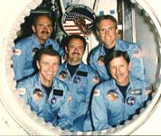STS-51I Crew Photo