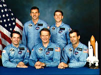 STS-51J Crew Photo