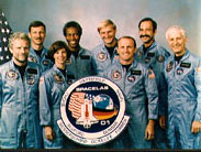 STS-61A Crew Photo