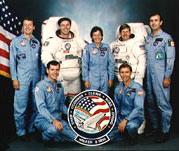 STS-61B Crew Photo