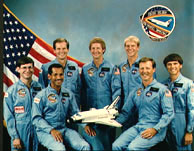 STS-61C Crew Photo