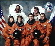 STS-63 Crew Photo