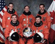 STS-74 Crew Photo