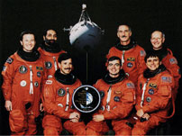 STS-75 Crew Photo
