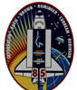 STS-85 Mission Patch