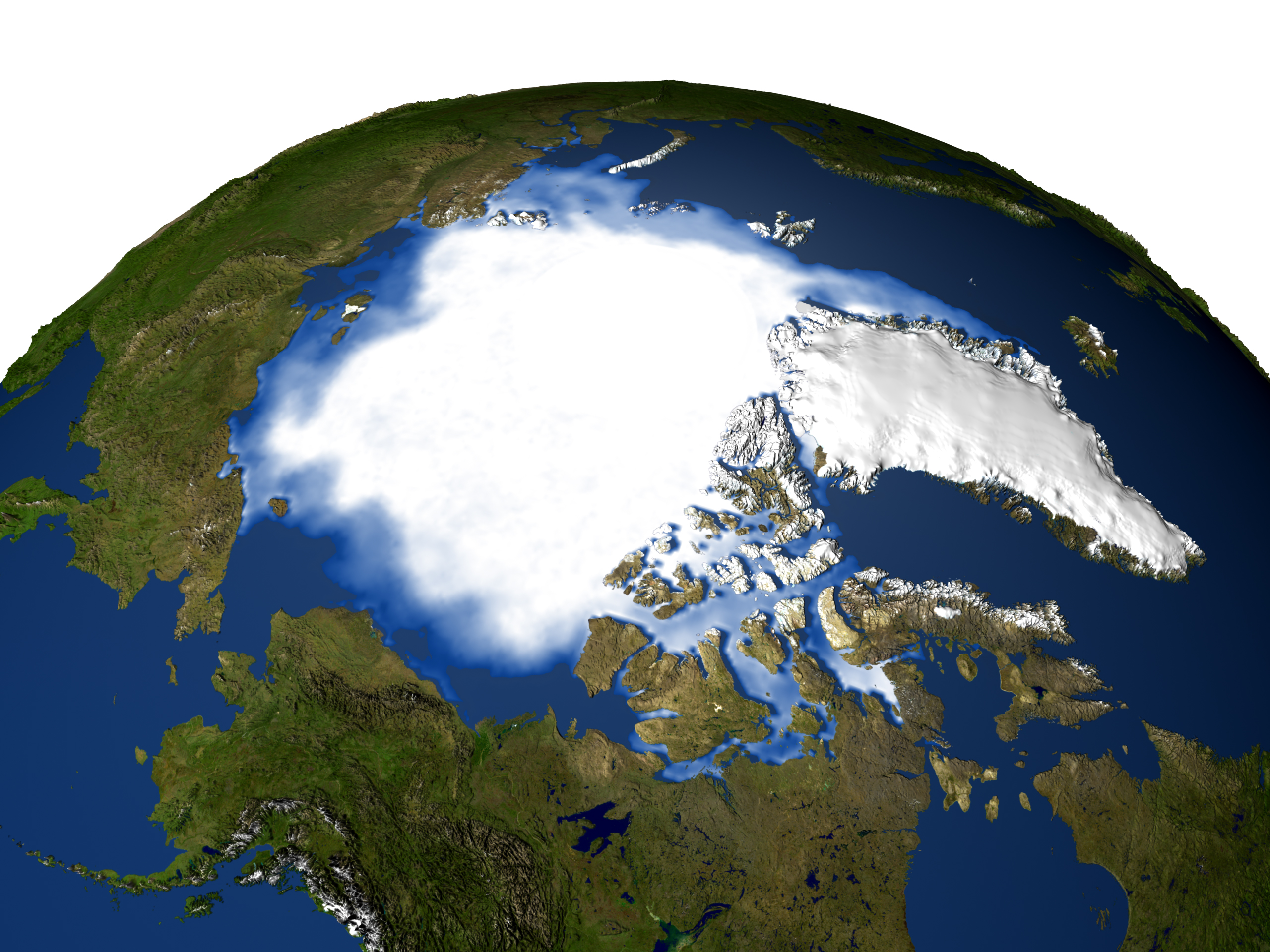 Nasa Satellites See A Double Texas Sized Loss In Arctic