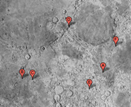 Google moon map