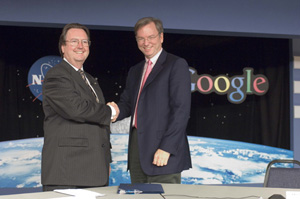 Scott Hubbard and Eric Schmidt
