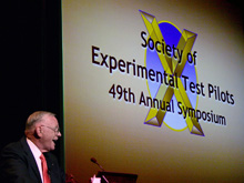 Astronaut Neil Armstrong speech at Experimental Test Pilots conference