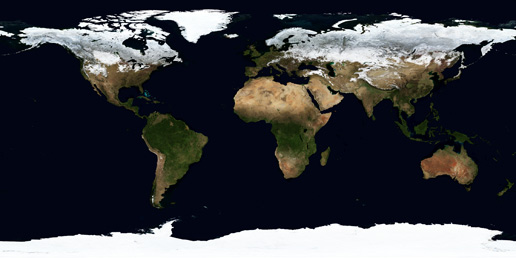 Image of Winter 2004 Blue Marble