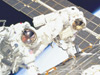 US spacewalk / 1st EVA on ISS