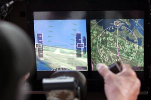 Synthetic vision systems give the pilot a clear electronic view on cockpit displays.