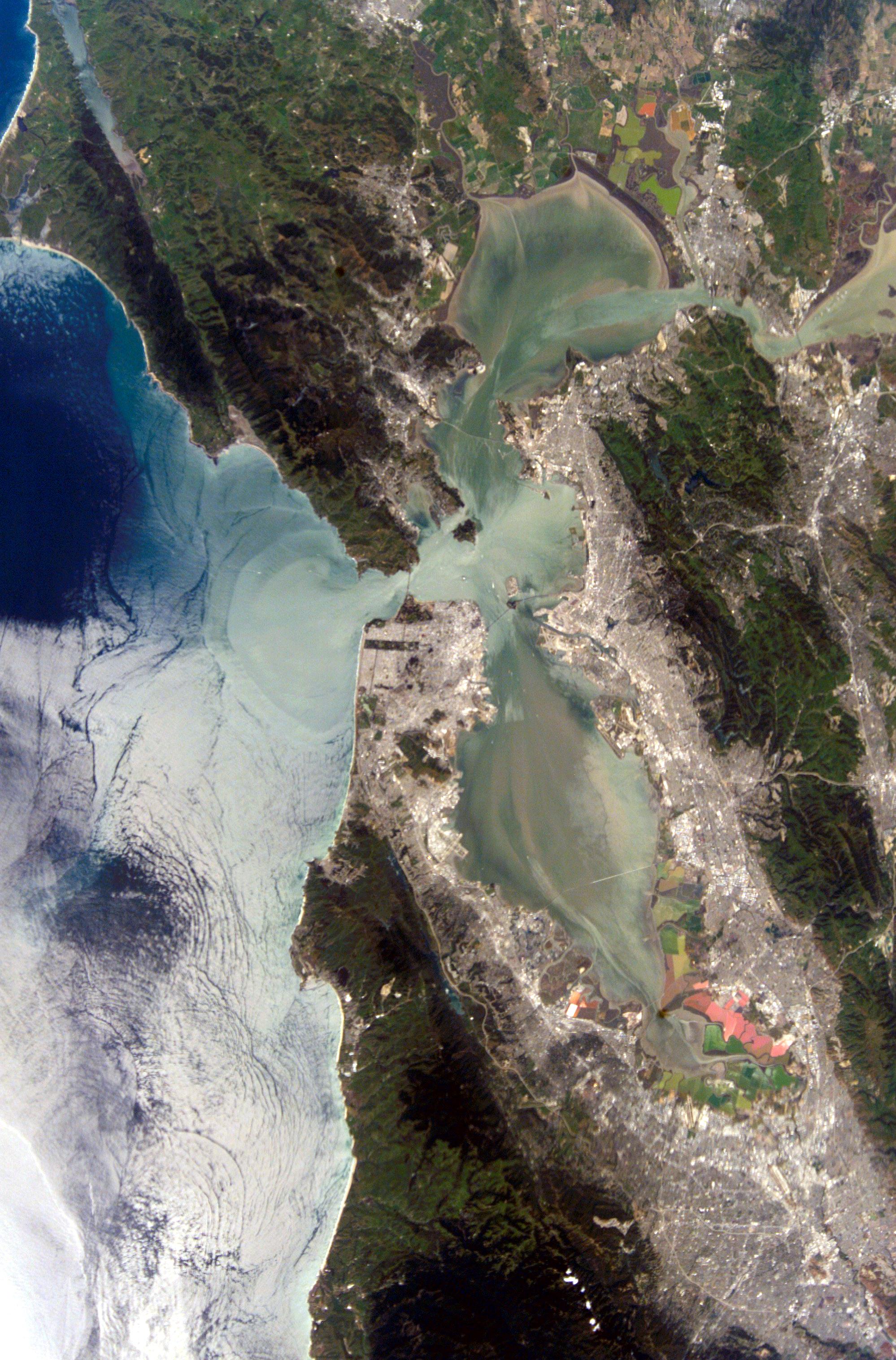 Nasa San Francisco Bay