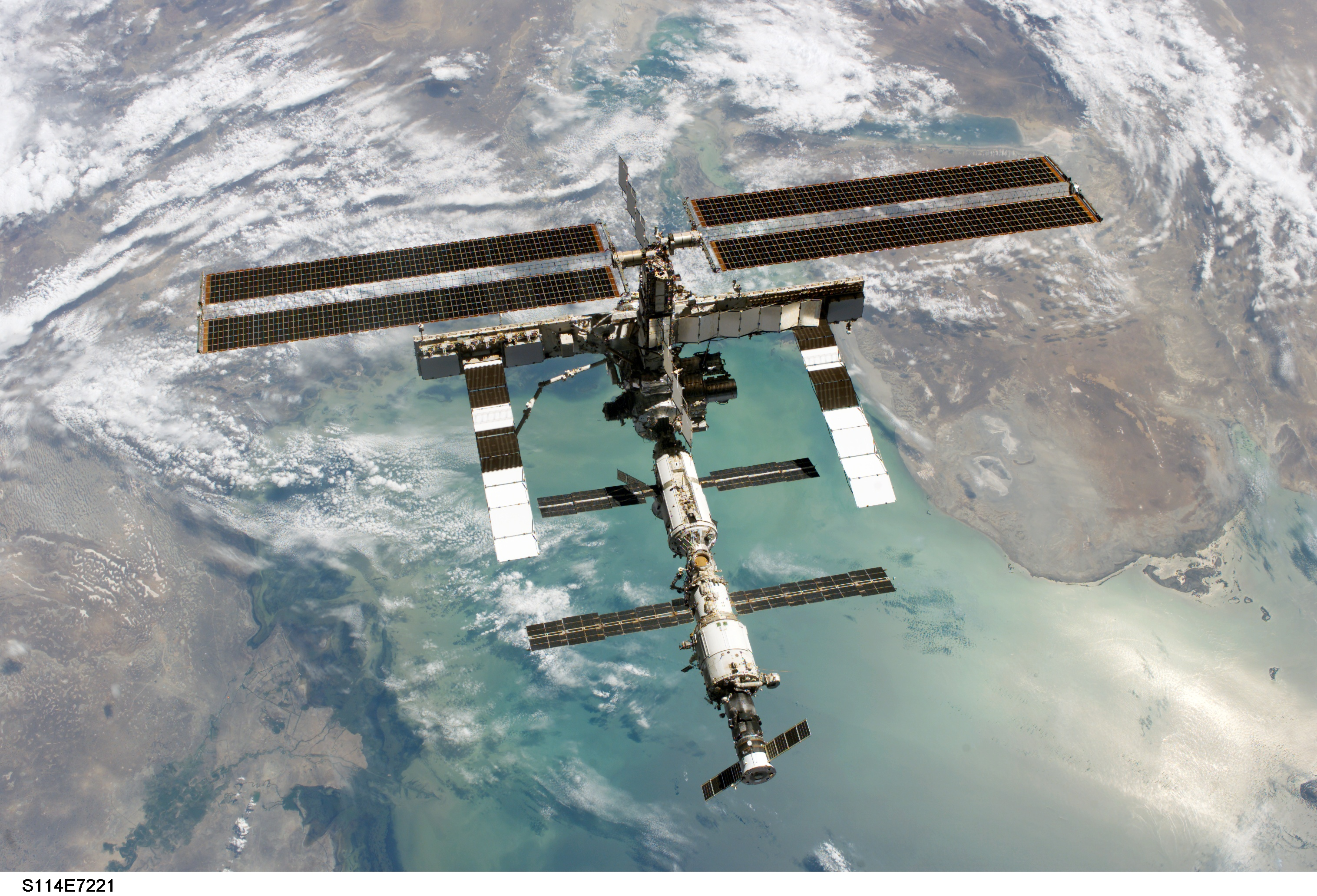 NASA - STS-114 Picture of ISS
