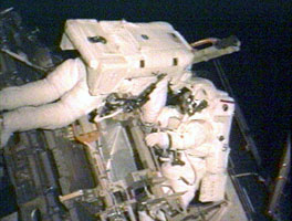 Expedition 12 spacewalk