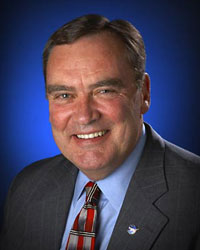 NASA General Counsel Michael C. Wholley. Photo credit: NASA/Bill Ingalls.