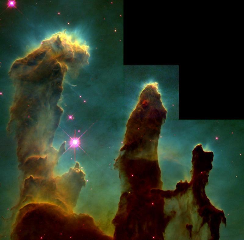 NASA - Revisiting the 'Pillars of Creation'