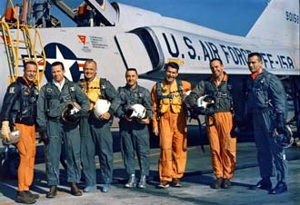 mercury 7 astronauts walking-#15