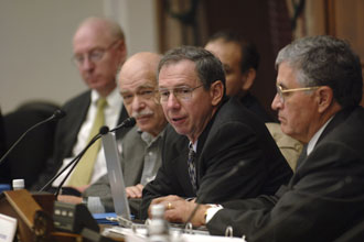 NASA Advisory Council meets on Nov. 29, 2005. Photo Credit: NASA/Bill Ingalls