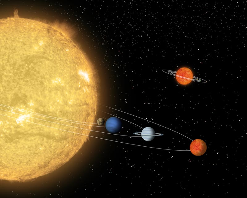 A Planet With Planets? Spitzer Finds Cosmic Oddball