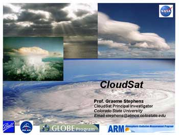 Cloudsat Slide 1