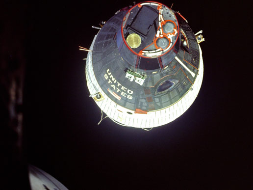 Gemini 6 and Gemini 7 Rendezvous.