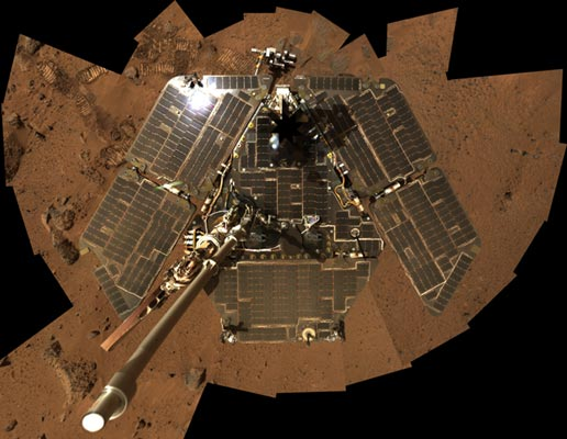 Nasa Spirit Celebrates Two Years On Mars
