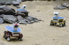 Adaptive sensor fleet rovers.