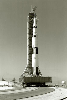 Rollout of Saturn V for the Apollo 11 mission
