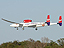 GlobalFlyer landing at Kennedy Space Center on Jan. 2.