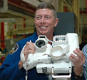 Mission Specialist Mike Fossum during CEIT