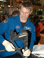 Mission Speciallist Piers Sellers during CEIT