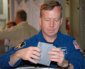 Commander Steve Lindsey during CEIT